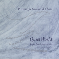 Pittsburgh Threshold Choir Quiet World CD Cover